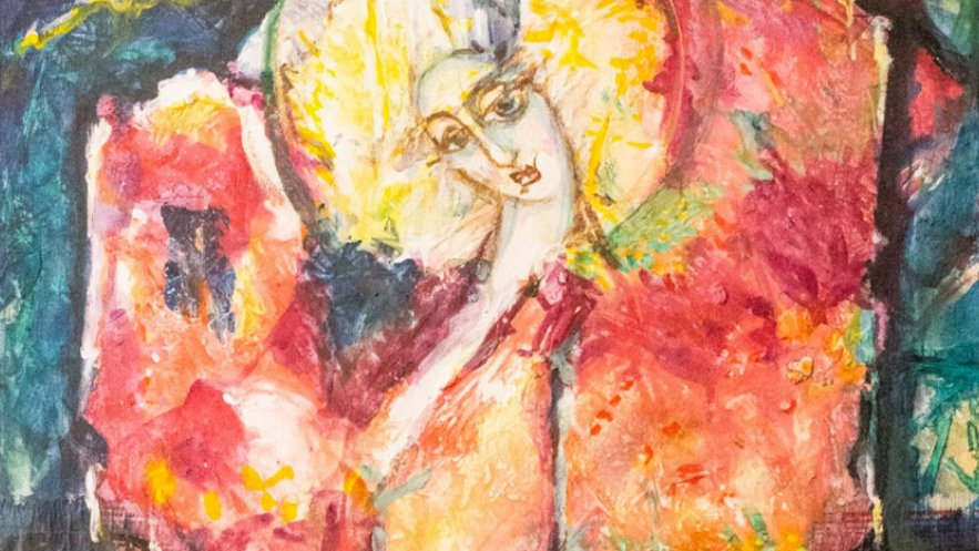 Kadr obrazu Eugeniusza Molskiego