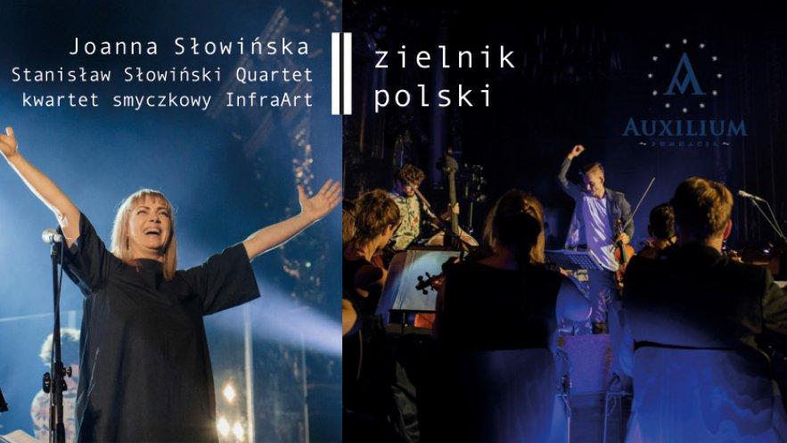 Grafika promująca koncert Zielnik Polski